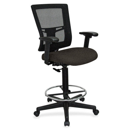 Lorell Breathable Mesh Drafting Stool ; UPC: 035255431040