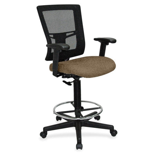 Lorell Breathable Mesh Drafting Stool ; UPC: 035255431064