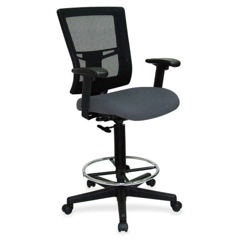 Lorell Breathable Mesh Drafting Stool ; UPC: 035255431019