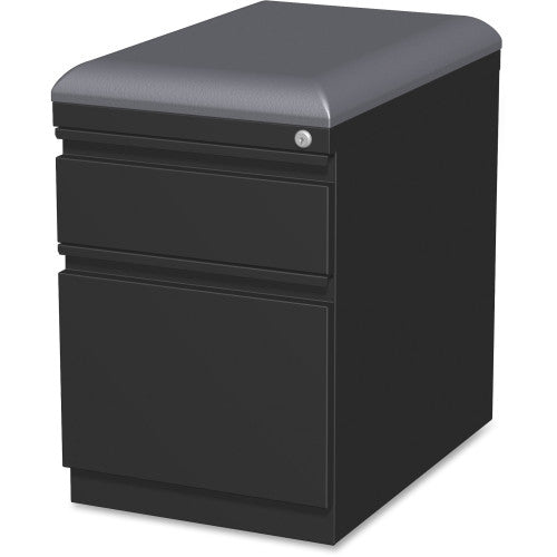 Lorell Mobile Pedestal File with Seating ; UPC: 035255495394
