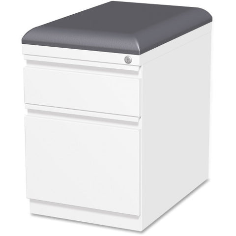 Lorell Mobile Pedestal File with Seating ; UPC: 035255495400