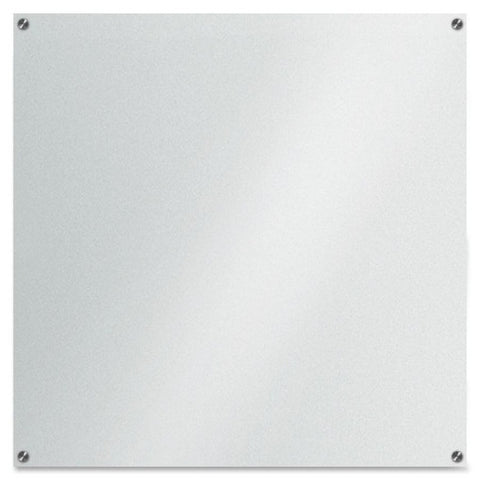 Lorell Glass Dry-Erase Board - 3.5' x 3.5' (035255525015)