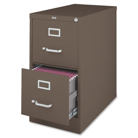 Lorell Fortress Series 26.5'' Letter-size Vertical Files LLR60156,  (UPC:035255601566)