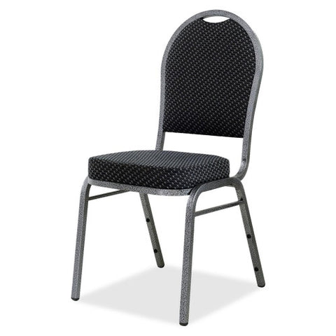 Lorell Upholstered Textured Fabric Stacking Chair ; UPC: 035255625197