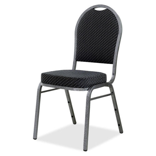 Lorell Upholstered Textured Fabric Stacking Chair ; UPC: 035255625258