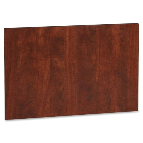 Lorell Accent Series Cherry Laminate Modesty Panel ; UPC: 035255635066