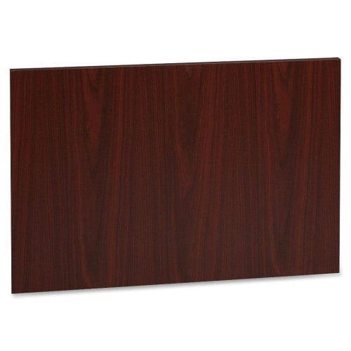 Lorell Accent Series Mahogany Laminate Modesty Panel ; UPC: 035255635073