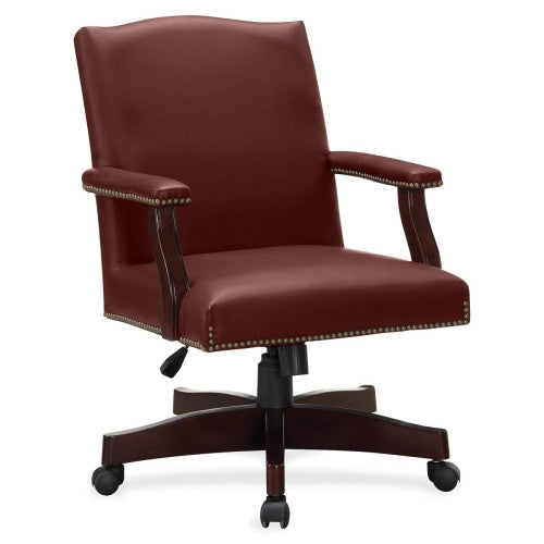 Lorell Traditional Executive Bonded Leather Chair ; UPC: 035255682510