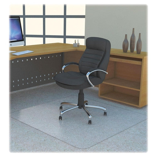 Lorell Rectangular Polycarbonate Chair Mat ; UPC: 035255697057