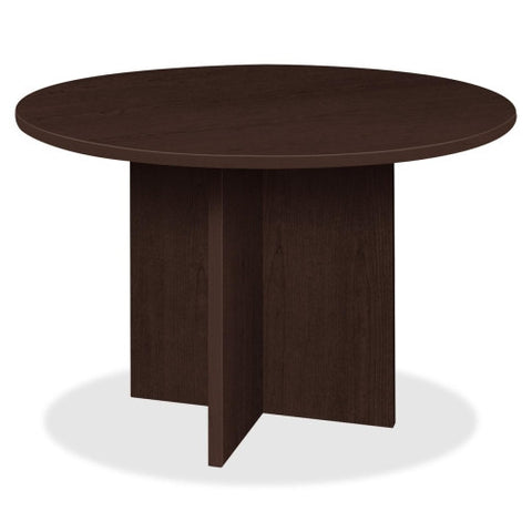 Lorell Prominence 79000 Series Espresso Round Conference Table ; UPC: 035255790536