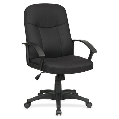 Lorell Executive Fabric Mid-Back Chair ; UPC: 035255845526