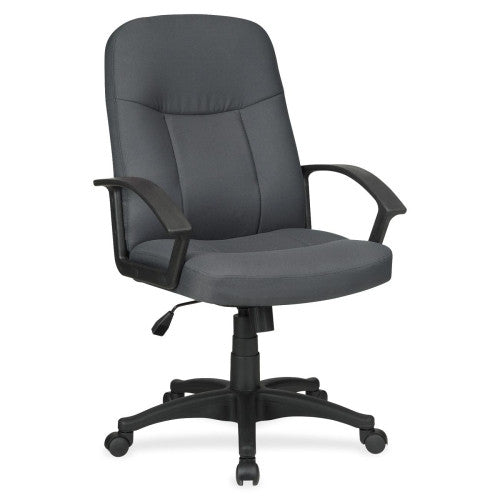 Lorell Executive Fabric Mid-Back Chair ; UPC: 035255845540