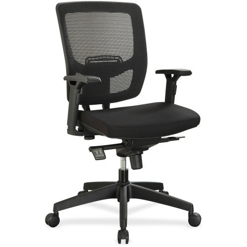 Lorell Executive Mesh Adjustable-height Mid-back Chair ; UPC: 035255845625