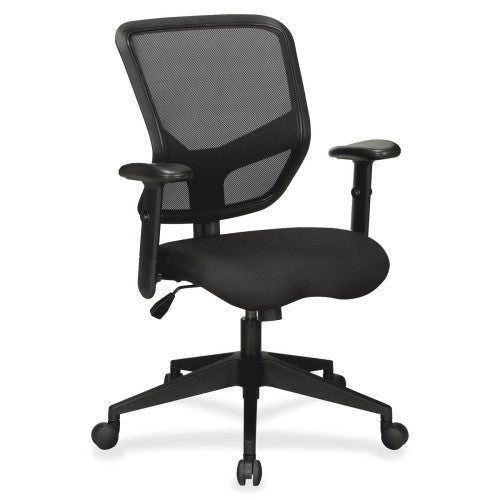 Lorell Executive Mesh Mid-Back Chair ; UPC: 035255845656