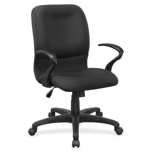Lorell Executive Mid-Back Fabric Contour Chair ; UPC: 035255845793
