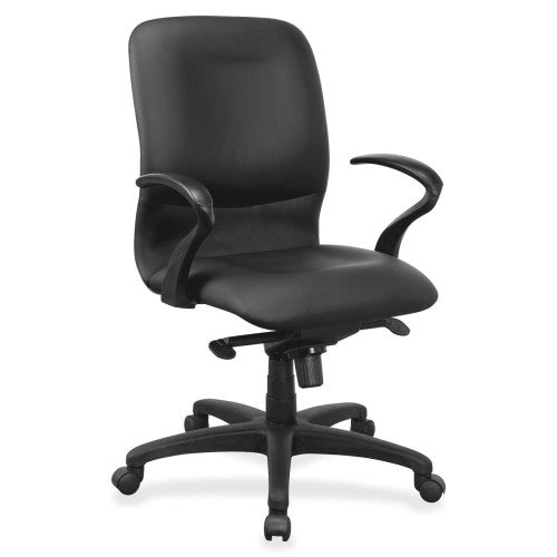 Lorell Executive Mid-Back Fabric Contour Chair ; UPC: 035255845809