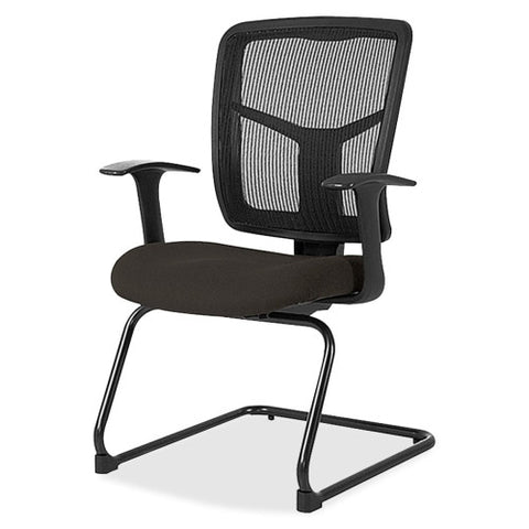 Lorell 86000 Series Mesh Side Arm Guest Chair ; UPC: 035255862240