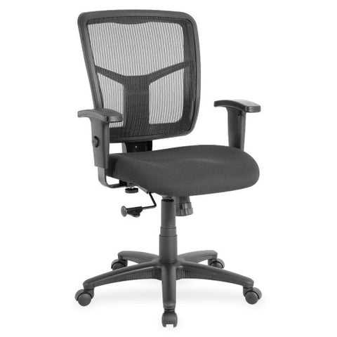 Lorell Managerial Mesh Mid-back Chair ; UPC: 035255862097