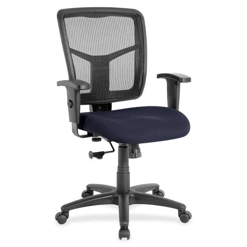 Lorell Managerial Mesh Mid-back Chair ; UPC: 035255861380