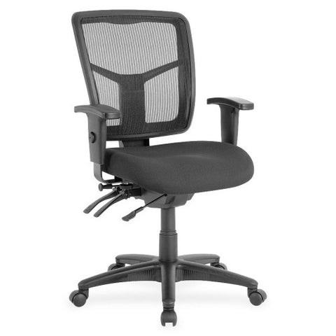 Lorell Managerial Swivel Mesh Mid-back Chair ; UPC: 035255868020