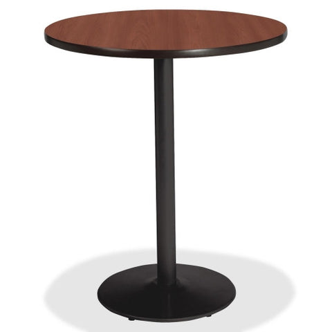 Lorell Bistro-Height Laminate Table with Base ; UPC: 035255890625