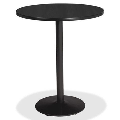 Lorell Bistro-Height Laminate Table with Base ; UPC: 035255890632