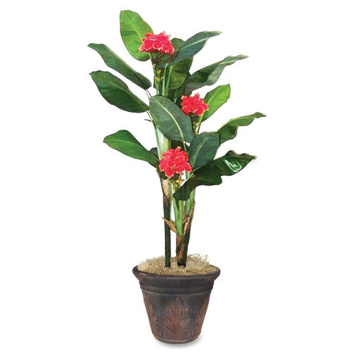 Nudell Artificial FLowering Banana Tree (NUDT7763)