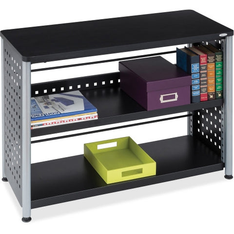 Safco Scoot Contemporary Design Bookcase SAF1601BL, Black (UPC:073555160123)