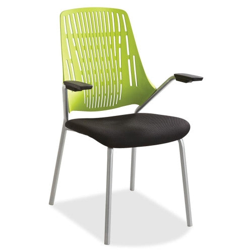 Safco Thrill Frameless Back Guest Chair SAF7044GN, Black (UPC:073555704471)