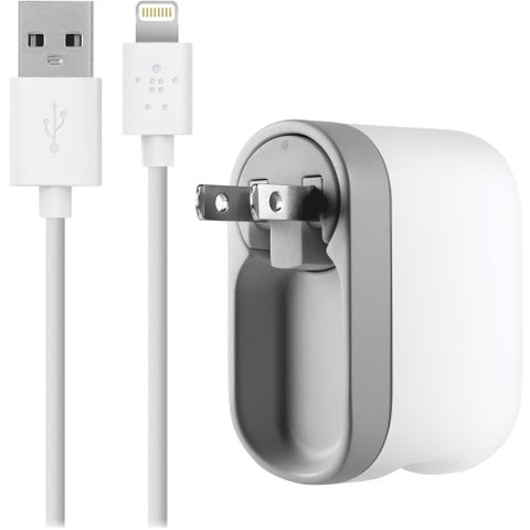 Belkin AC Swivel Lightning Cable iPhone Charger ; UPC: 722868906224