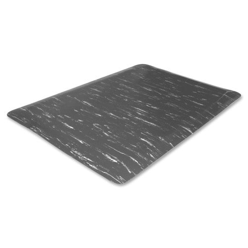 Genuine Joe Marble Top Anti-fatigue Mat GJO71210, Gray (UPC:035255712101)