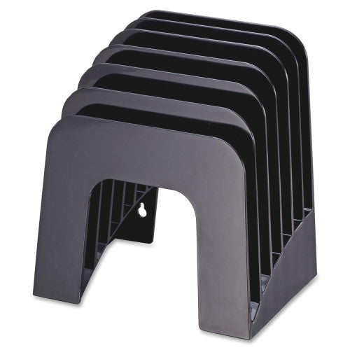 Officemate Heavy-duty Recycled Jumbo Incline Sorter OIC26932, Black (UPC:042491269320)
