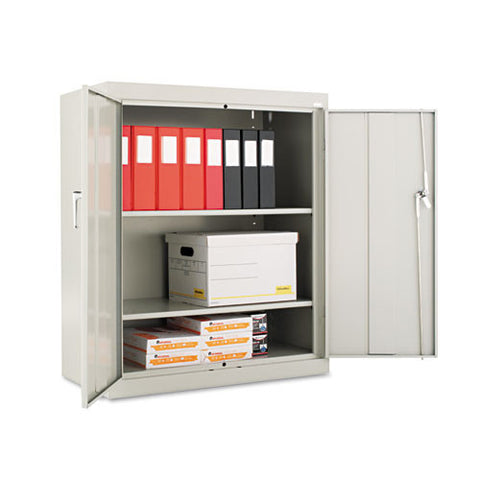 Alera Heavy Duty Welded Storage Cabinet ALECM4218LG,  (UPC:042167841072)