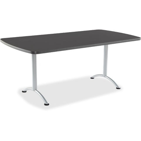 Iceberg Arc Fixed Height Table 36X72 Rectangular, Graphite ICE69227 ; UPC: 674785692271