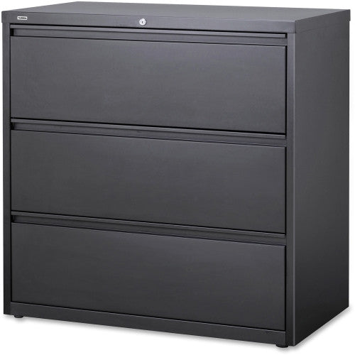 Lorell Hanging File Drawer Charcoal Lateral Files LLR60405, Black (UPC:035255604055)