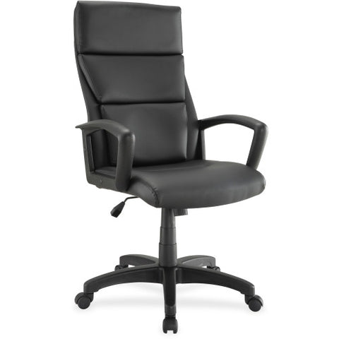 Lorell Euro Design Lthr Executive High-back Chair ; UPC: 035255845694