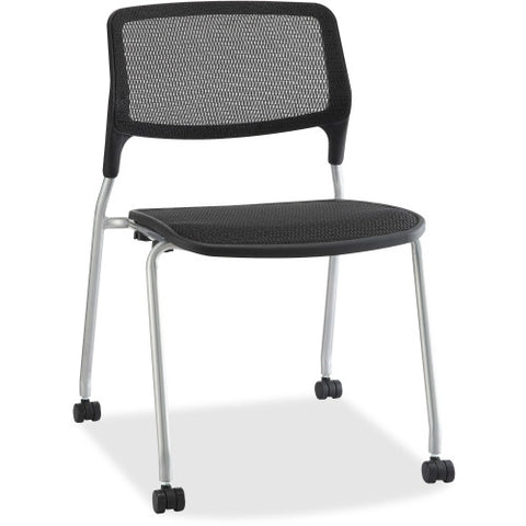 Lorell Stackable Guest Chairs ; UPC: 035255845724
