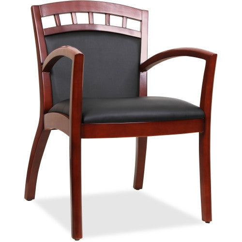 Lorell Crowning Accent Wood Guest Chair ; UPC: 035255200127