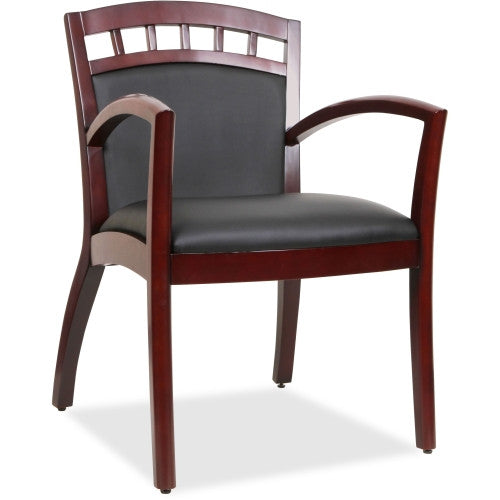Lorell Crowning Accent Wood Guest Chair ; UPC: 035255200134