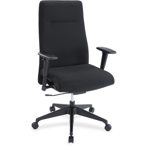 Lorell Weight Activated High-back Suspension Chair ; UPC: 035255348522