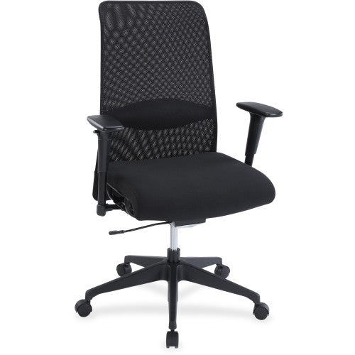 Lorell Weight Activated Mesh Back Suspension Chair ; UPC: 035255348546