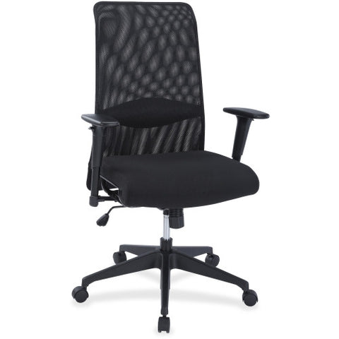 Lorell Synchro-tilt Mesh Back Suspension Chair ; UPC: 035255348553