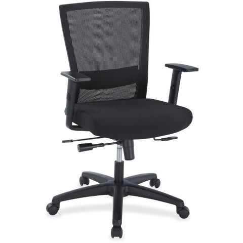 Lorell Ergonomic Mid-back Mesh Chair ; UPC: 035255548502