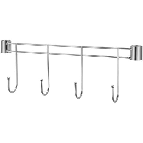 "Lorell Industrial Wire Shelving 18"" Hook Rack ; UPC: 035255698801"