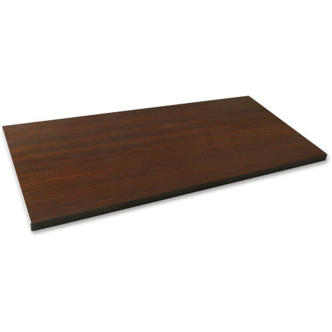 Lorell Espresso Laminate Lateral File Top ; UPC: 035255699228