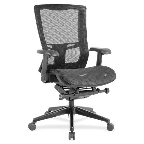 Lorell Checkerboard Design High-Back Mesh Chair ; UPC: 035255855600
