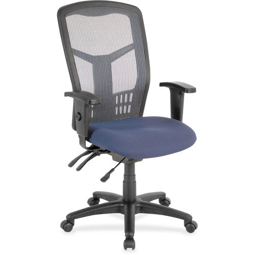 Lorell Ergomesh Seating Exec Mesh High-Back Chair ; UPC: 035255869065