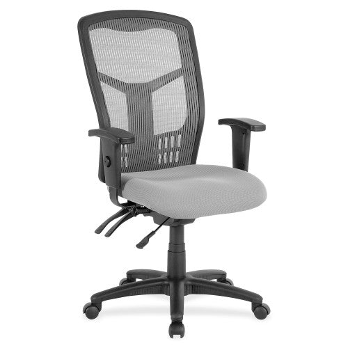 Lorell Ergomesh Seating Exec Mesh High-Back Chair ; UPC: 035255869072