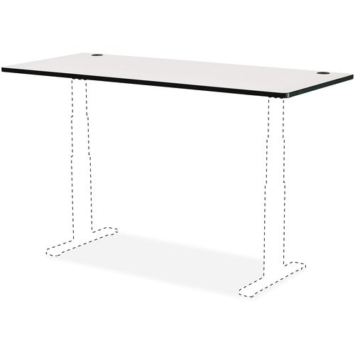 "Safco Products 60 x 24"" Top for Height-Adjustable Table 1890GR(Image 1)"