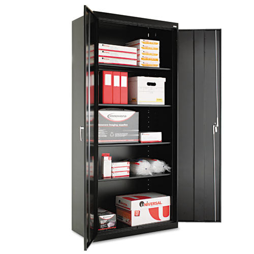 Alera Heavy Duty Welded Storage Cabinet ALECM7818BK,  (UPC:042167881092)